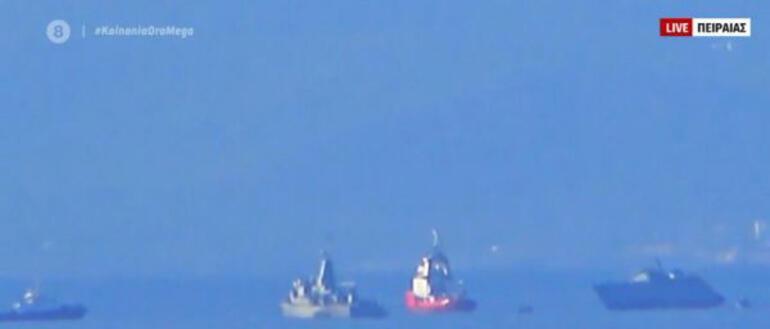 Son dakika... Yunan savaş gemisi battı