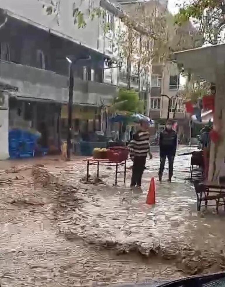 Şarköy'de hortumun ardından sağanak