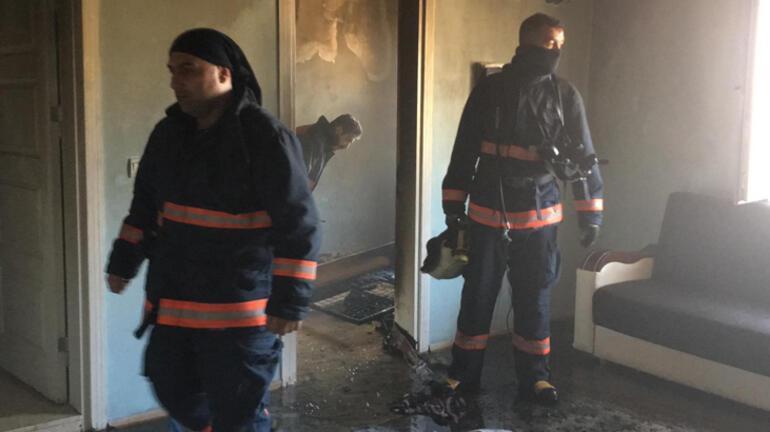 Elazığda yangın faciası 8 aylık bebek öldü, 2 çocuk yaralandı