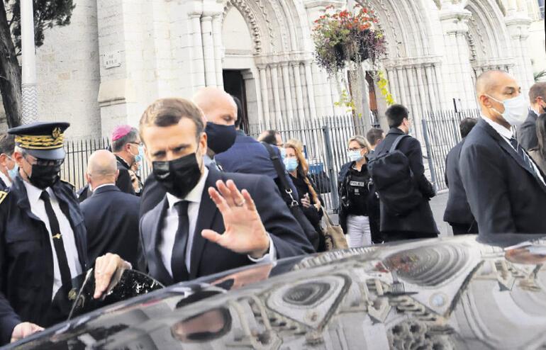 Fransa'da kiliseye saldırı