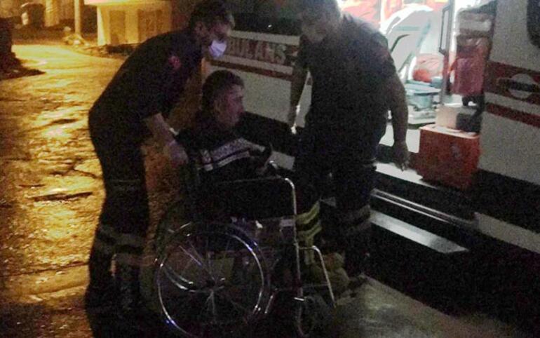 Zonguldakta korkunç yangın Anne öldü oğlu ile 3 itfaiye eri yaralandı