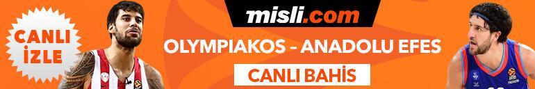 Olympiakos - Anadolu Efes maçı Tek Maç ve Canlı Bahis seçenekleriyle Misli.comda
