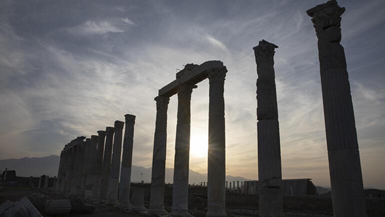 Anadolunun en büyük ikinci antik kenti Laodikya