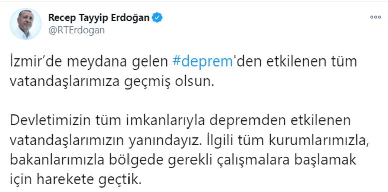 Son dakika İzmirde şiddetli deprem Ege ve Marmarayı salladı