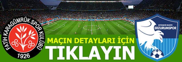 Fatih Karagümrük - Erzurumspor: 5-1