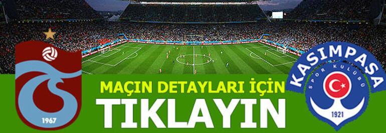Trabzonspor - Kasımpaşa: 3-4