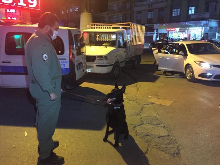Adanada helikopter ve drone destekli narkotik uygulaması