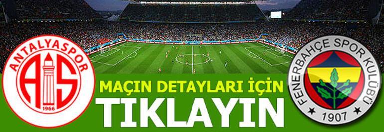 Antalyaspor - Fenerbahçe: 1-2