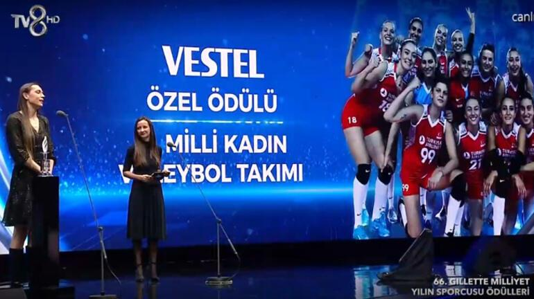 66. Gillette-Milliyet Yılın Sporcusu töreninde ödüller sahibi buldu