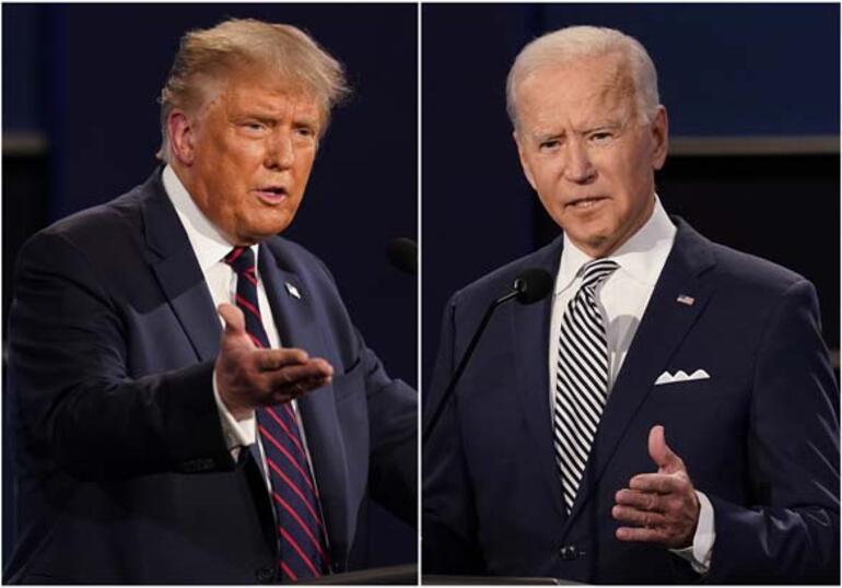 Son dakika: Dünya ABD seçim sonuçlarına kilitlendi Oy sayımı devam ediyor...