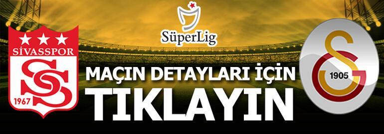 Sivasspor - Galatasaray: 1-2