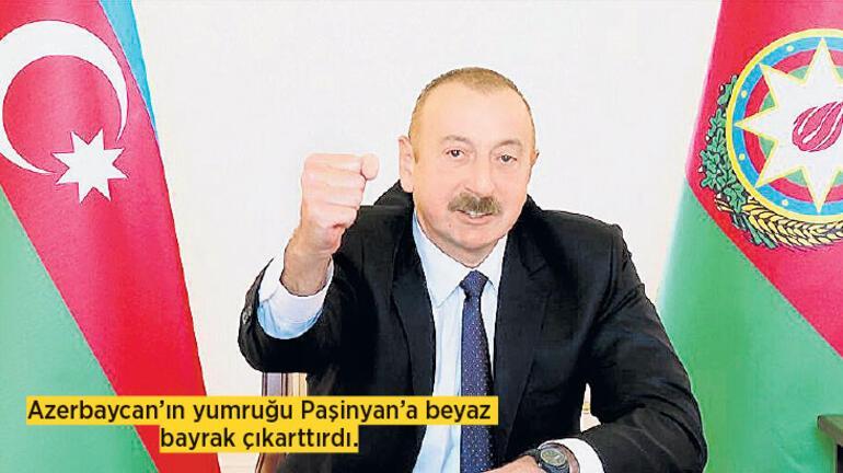 Aliyev'in yumruğu