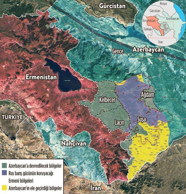 Ermeni milislerormanda gizleniyor