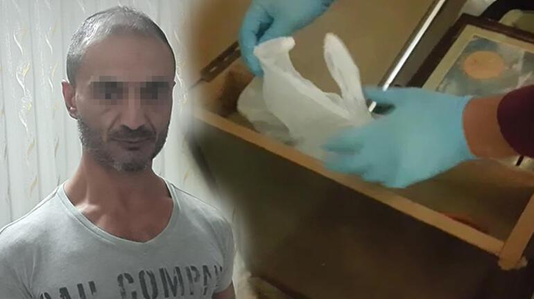 Çeyiz sandığından uyuşturucu çıktı