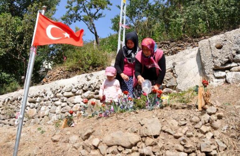 Şehit öğretmenin ailesinden, teröristin evine taziyeye giden HDPlilere tepki