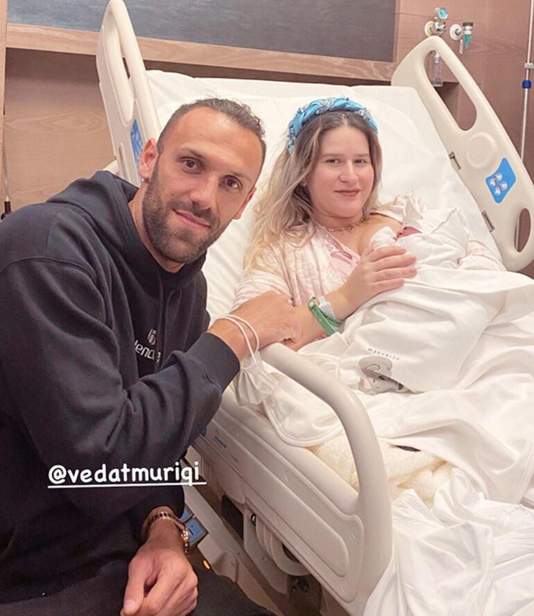 Son dakika - Vedat Muriç ikinci kez baba oldu