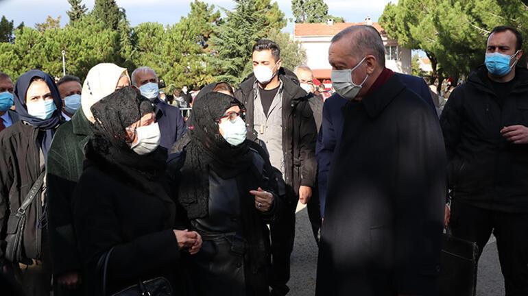 Cumhurbaşkanı Erdoğan, Bakan Pekcan'ın acısını paylaştı