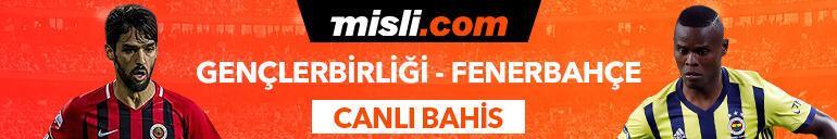 Gençlerbirliği - Fenerbahçe maçı canlı bahis heyecanı Misli.comda