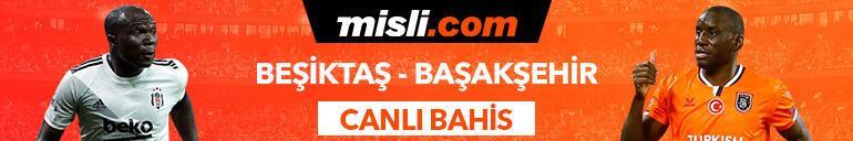 Beşiktaş - Başakşehir maçı canlı bahis heyecanı Misli.comda