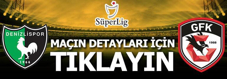 Denizlispor-Gaziantep FK: 0-1