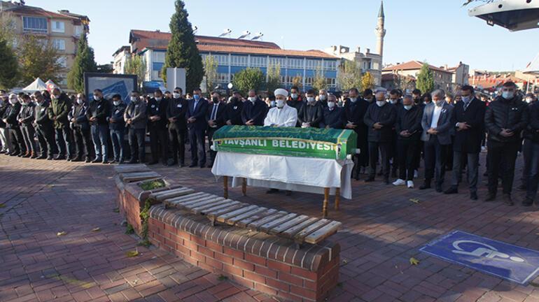 MHP Tavşanlı İlçe Başkanı Akın Kaygısızın cenazi toprağa verildi