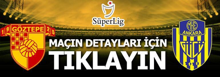 Göztepe - Ankaragücü: 3-1
