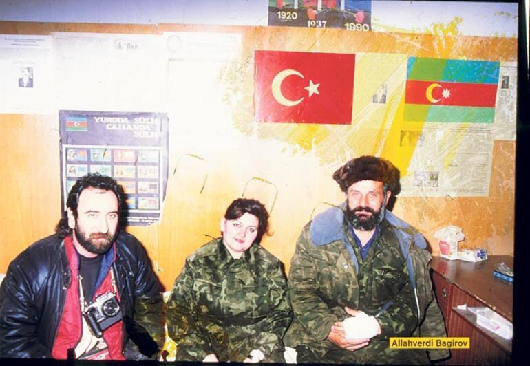 Ayyıldızlı al bayrak hep Karabağ'daydı...