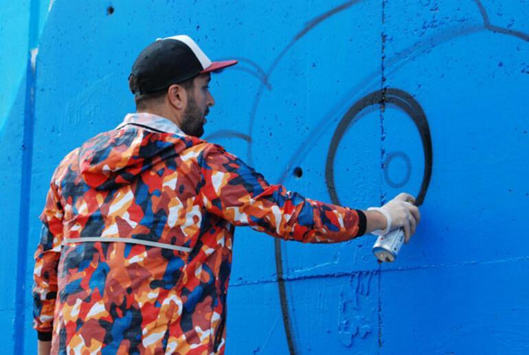 Grafiti zaman içinde daha fazla resimleşti
