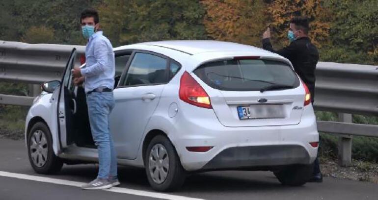 Anadolu Otoyolunda cip ile otomobil çarpıştı: 3 yaralı