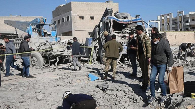 Son dakika... El Babdan sonra şimdi de Afrin Çok sayıda ölü ve yaralı var