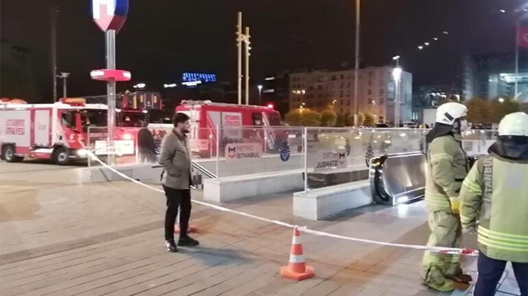 İstanbulda Yenikapı-Hacıosman metro seferleri normale döndü
