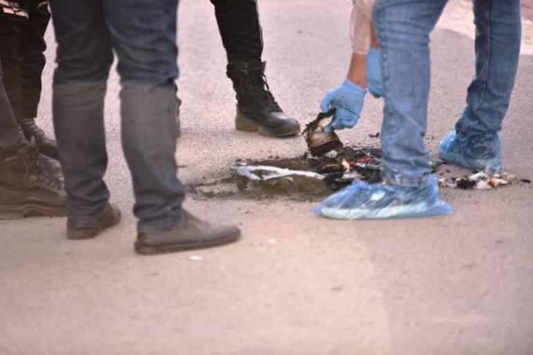 Son dakika Akıllara durgunluk veren olay Yunus polisi üniforması ve teçhizatı yakıldı