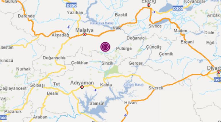 Son Dakika: Malatyada korkutan deprem Bölgeden görüntüler geliyor...