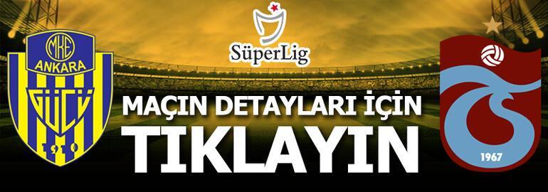 Ankaragücü-Trabzonspor: 0-1