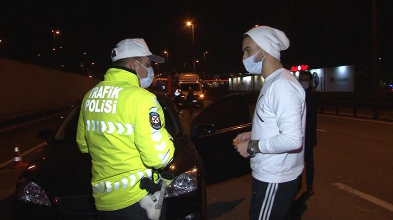 İstanbulda kısıtlamayı ihlal edenlere ceza yağdı