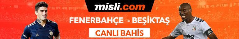Fenerbahçe - Beşiktaş derbisi Tek Maç ve Canlı Bahis seçenekleriyle Misli.com'da