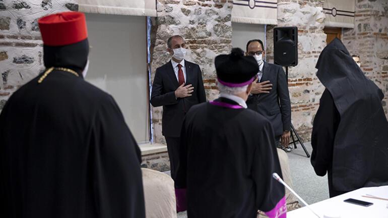 Gül ve Kalın, azınlık cemaatlerinin temsilcileriyle buluştu