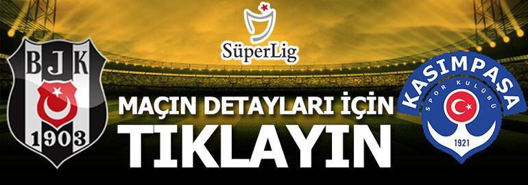 Beşiktaş - Kasımpaşa: 3-0