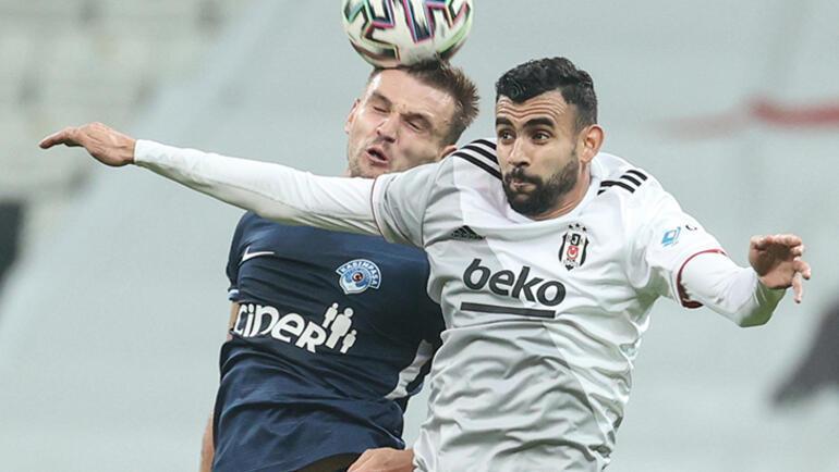 Son dakika - Beşiktaşta Rachid Ghezzal fırtınası Transferi kurye ile yetiştirilmişti...