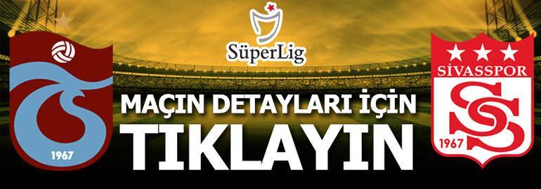 Trabzonspor - Sivasspor: 1-1