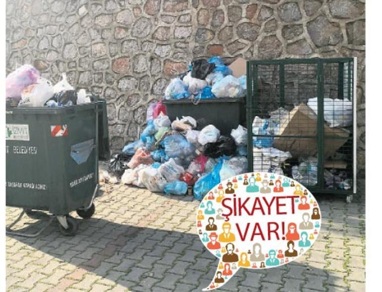 Vatandaştan Başkan'a çöp sitemi