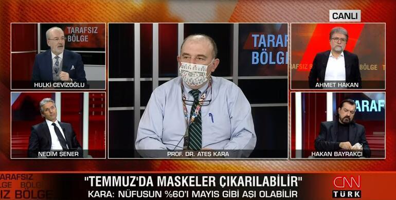 Son dakika Maskesiz hayat ne zaman başlayacak Bilim Kurulu Üyesi Prof. Dr. Ateş Kara açıkladı