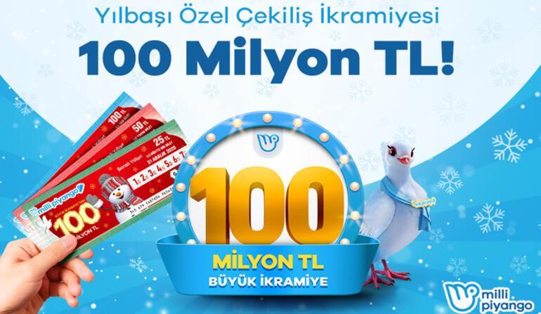 Milli Piyango yılbaşı biletinizi online alabilirsiniz Büyük ikramiye 100 milyon TL