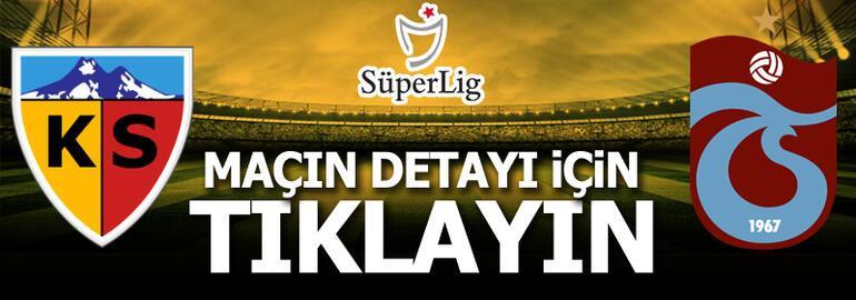 Kayserispor-Trabzonspor: 0-0