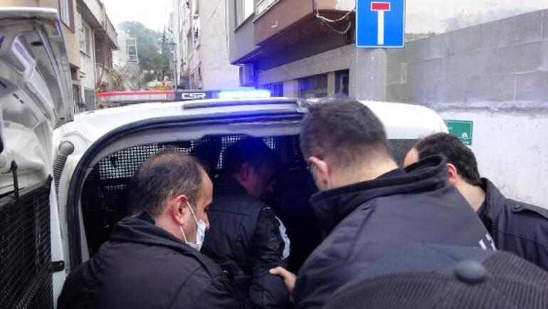 Son dakika... Mahalleliye yakalanan şüpheliyi linçten polis kurtardı