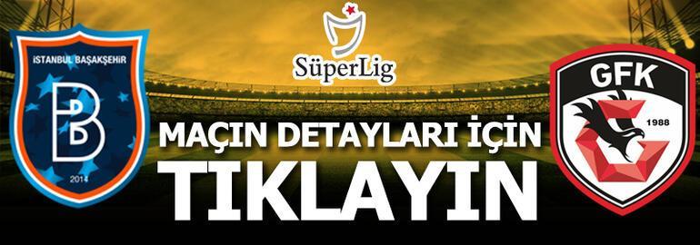 Medipol Başakşehir - Gaziantep FK: 1-2