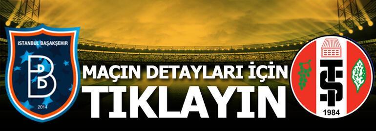 Başakşehir - Turgutluspor: 7-0