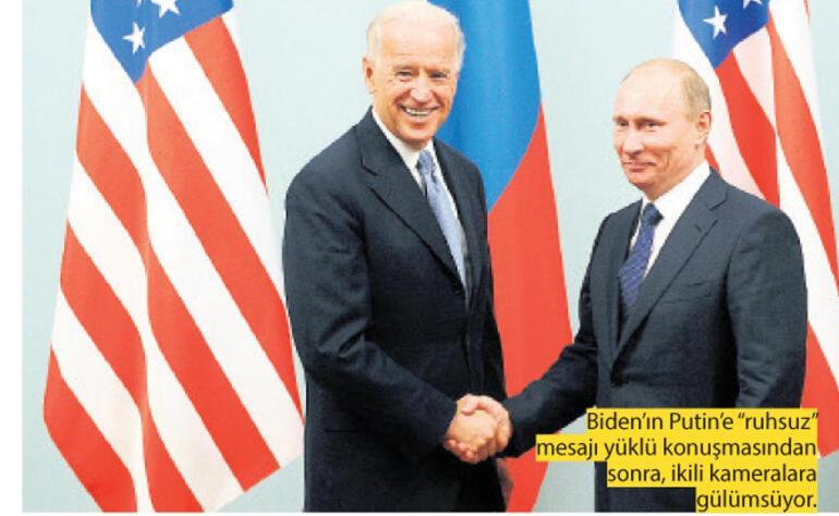 """Biden'dan Putin'e """"ruhsuz"""""""