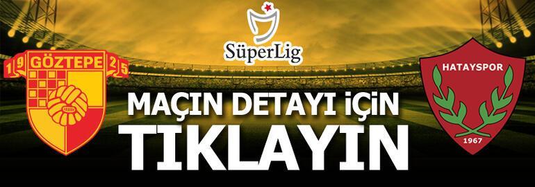 Göztepe - Hatayspor: 0-1