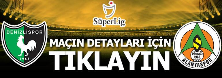 Denizlispor-Alanyaspor: 1-0